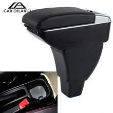 Car Armrest Box Central Store Content Storage Box With Cup Holder Ashtray For Great Wall Hover M4 2012-2014 Auto Accessories