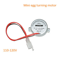 China Manufacturer Egg Incubator Automatic Turning Motor  110-120V match HT-48 HT-56 HT-96,HT-112 for sale