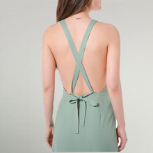 Buy MUXU sexy suspender bandage green backless dress summer maxi beach women long dress womens clothing fashionable sleeveless jurk for $26.09 in AliExpress store