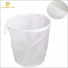 "13""/10"" Food grade 30 Mesh Strainer Filter Bag for Nut Hops Tea Brewing Food Filtration House Homebrew Wine Beer Making Bar Tool(China)"