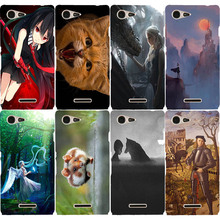 Buy Sony Xperia E3 D2203 D2206 D2243 D2202 Dual D2212 coque Cute Animal Anime Painting Hard Plastic Case Sony E3 Case Cover for $2.95 in AliExpress store