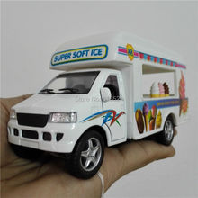 5'' DieCast Metal * Doors Openable * Pull Back Action Super Soft Ice Cream Truck 1:24 Alloy Kinsmart Diecast model toy cars
