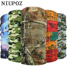 Bandana Ring-Neck-Scarf Tubular Magic Camouflage Seamless for Baby Leaves Gift Multi-Functional