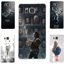 GOT Game Of Throne House Stark Hard PC Painting Case For Samsung Galaxy Alpha G850 G850F G8508S G850T G850M Phone Printed Case
