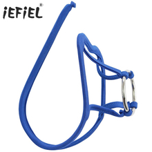Buy iEFiEL Brand Thong Jockstrap fashion Sexy Lingerie Men's G-strings Open Pouch Metal Ring Thongs Underwear Thongs Gay Underwear