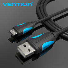 Vention Micro USB Cable Fast Charging Wire for Android Mobile Phone Data Sync Charger Cable 1M 2M 3M For Samsung HTC Xiaomi Sony(China)