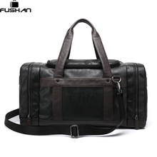 Brand Leather Travel Bags With Side Pockets For Men,New Fashion Hasp Luggage Travel Man Bag,Casual Male Business Bolsas new 2017