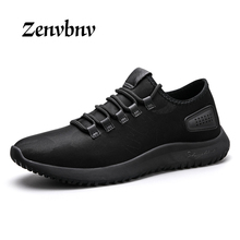 Buy ZENVBNV 2017 New Men Casual Shoes Fashion Soft Leather Black Red Mens Footwear Casual Breathable Hard-Wearing Men's Flat Shoes for $28.59 in AliExpress store