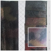 flash fold style camouflage 0.7 mm PVC synthetic leather fabric 8 Smooth surface for decorative Material bag couro cloth(China)