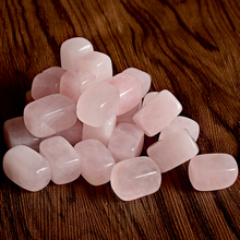 100g Natural  rose quartz Tumbled Stone Healing Reiki Crystal Chakra Home Decor tumbled stone Garden Flower  Craft Stone