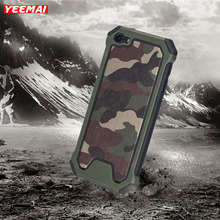 Cases For Apple iPod Touch 5 6 Shockproof Case Military Camouflage Pattern TPU+PC Army Green Anti-knock Armor Frame Back Cover