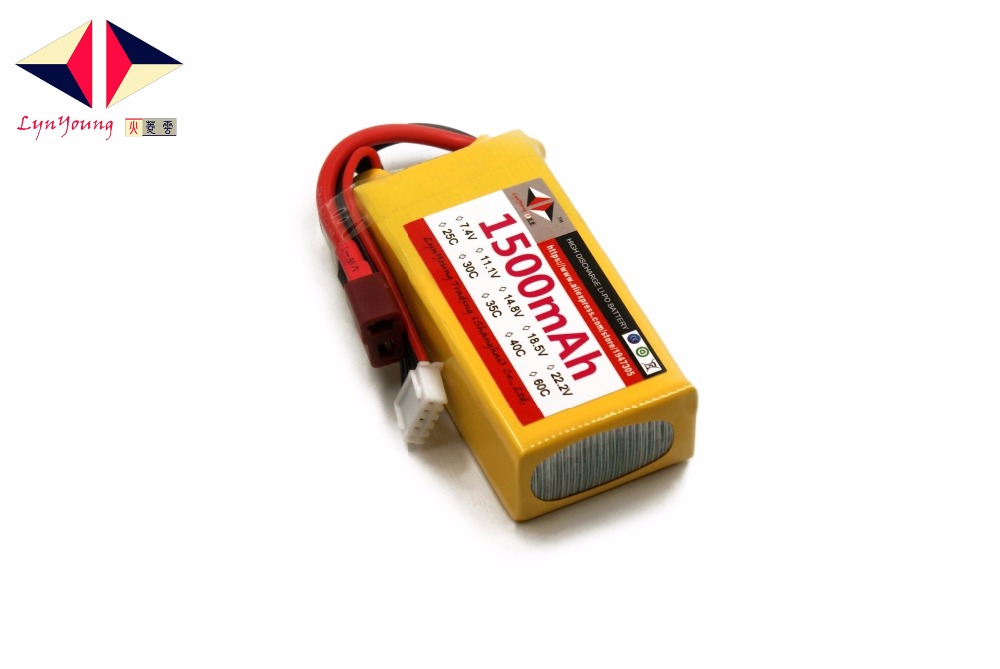 1500mAh 18.5V AKKU LYNYOUNG Lipo battery 30C 5S for RC Racing Car Drone Bike Truck Boat Quadcopter Helicopter
