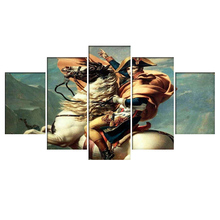 5 Piece Napoleon Bonaparte Canvas Printed Painting For Living room Picture Wall Art HD Decor Modern Artworks