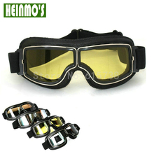 UV400 Helmet Pilot Goggle Climbing Motocrosss MX Goggles Cross Country Google Motorcycle Racing Glasses Sunglass