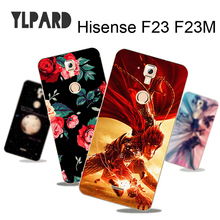 2017 Printing Case for Hisense F23 F23M Phone Back Cover Painted Shell Free Ship