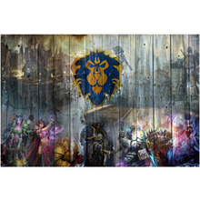 World of Warcraft WOW Mists of Pandaria Game Photographic Paper Waterproof Poster Home Bar Shop Decor Boy Gift Decor Posters