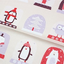 161029Y83 , 50cm*150cm Christmas cartoon DIY handmade cotton cloth fabric , The baby cotton bedding , The tablecloth accessories