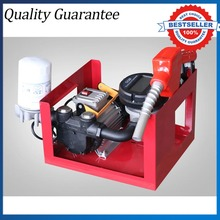 12V/24V/220V Large Flow Oil Pumping Unit With Tubing  Electronic Metering Combined Diesel Oil Pump