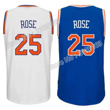 2016 New Arrival #25 Derrick Rose basketball Jersey,Rev 30 Derrick Rose #25 Jersey Cheap sales Embroidery Logos Free Shipping