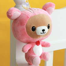 Easily bear little doll, easily bear plush toy doll sucker pendant wedding gift 20cm free shipping YZ05