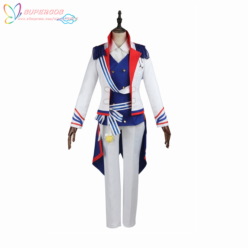 B-PROJECT Ambitious Tomohisa Kitakado Coat Shirt Suit Cosplay Costume ,Perfect Custom For you!