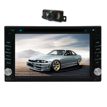 Car DVD Player Logo MP3 Music Radio GPS Stereo System SD In Dash Map PC CAM Autoradio Auto Head Unit 2 din Movie