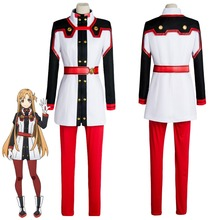 Sword Art Online SAO the Movie Ordinal Scale OS Asuna Yuuki/Yuki Cosplay Costume Custom Made For Halloween Carnival