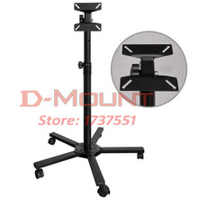 30inch 27inch 20inch movable swivel LCD PLASMA tv floor bracket lcd mount led stand tv trolley Display Rack with wheel