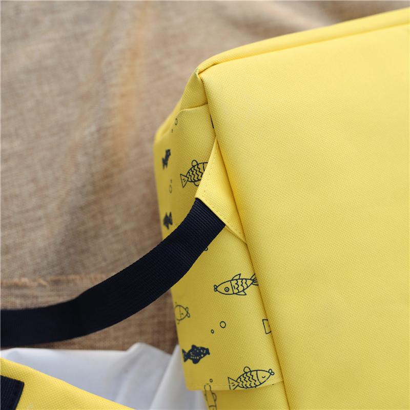 Menghuo Fish Printing Women School Bag Backpack for Teenage Girls Backpacks Female Canvas Children Schoolbag Women Bag s (17)