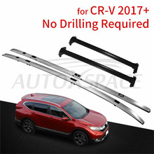 New Arrival Black silver baggage luggage roof rack bar cross bar crossbars Suitable for Honda All New CRV CR-V 2017 2018