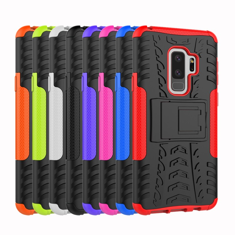 Shock Proof Cases Cover For Samsung Galaxy S9 S9+ S9plus S9 Plus Tyre Case Mobile Phone Accessory Coque Etui Capa Protect Shell (2)