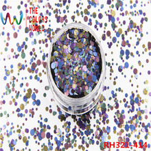 TCT-196 Halloween Glitter Mix Glitter colores forma lentejuelas para clavo Glitter Nail Gel Nail Art Facepaint decoración Manual de DIY(China)