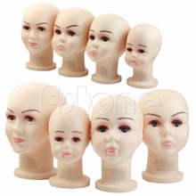 Children Mannequins Manikin Head For Wig Hats Mould Show Stand Model Display Large Size
