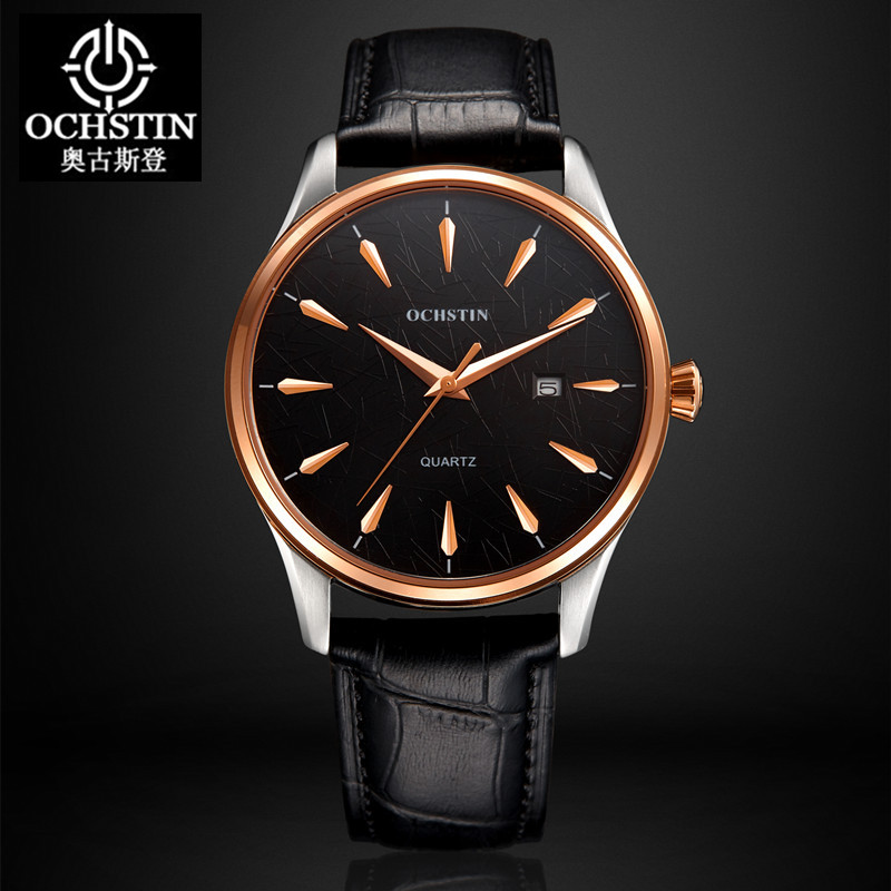 2016 Real Ochstin Luxury Brand Watches Men Women Casual Sports Male Leather Watch Lady Mens Quartz Wrist Relogio Masculino<br>