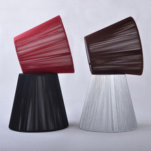 FRLED 1 Pcs Stainless Steel Art Deco Lampshades For Lamps Factory Wholesale Modern Lamp Shade Chandelier Lamp Small Insulation(China)