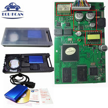 DHL Free Super V-OLVO Vida Dice Diagnostic Interface 2014D For Volvo DICE VIDA Diagnostic Tool Multi-Languages With Plastic Box