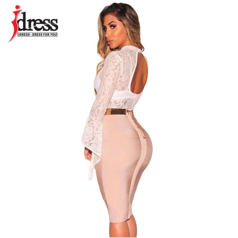 IDress Women Lace Bodysuit Sexy Cut Out Jumpsuit Womens Long Sleeve Romper Leotard Bodysuits High Neck Hollow Out Body Suit (11)