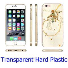 Little Prince Table Clear Phone Cover Case for iPhone 5S 5 SE 5C 4 4S 6 6S 7 Plus ( Soft TPU / Hard Plastic for Choice )
