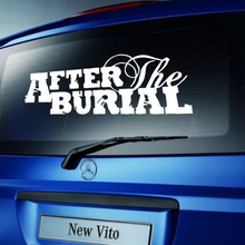 Cool Graphics Car Stying After The Burial Band Logo Car Decal Vinyl Rear Windshield Sticker Jdm(China)