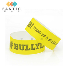 200pcs without logo different colors available cheap custom bracelets,vinyl paper wristband,event id bands,paper  wristband