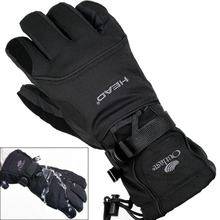 2016 New Men's Ski Gloves Snowboard Gloves Snowmobile Motorcycle Riding Winter Gloves Windproof Waterproof Unisex Snow Gloves