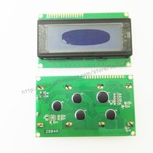 1pcs LCD 2004 20x4 Character LCD Display Module HD44780 Controller blue screen backlight forarduino