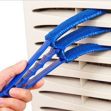 High Quality Household 3-blades Window Blinds Brush Air Conditioning Cleaner Shutter Multifunctional Dust Cleaning Brush