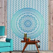 Bohemia Indian Mandala Tapestry Wall Hanging Tapestries Boho Bedspread Beach Towel Yoga Mat Blanket Table Cloth