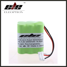 New Eleoption High Quality 7.2V 2000mAh Ni-MH Rechargeable Vacuum Battery for Mint 5200/5200C 7.2 Volt