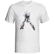 Macross ROBOTECH VF 1S T Shirt Nostalgic Cartoon Anime Design T-shirt Fashion Novelty Style Tshirt Men Summer Pop Top Tee(China)