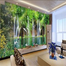 beibehang photo wallpaper quality flash silver cloth & TV sofa background bedroom garden wedding flowers large mural wallpaper