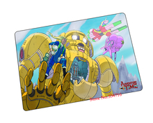 Adventure Time mouse pad  robot game pad to mouse notebook computer mouse mat brand gaming mousepad gamer laptop