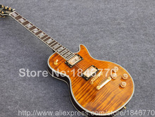 New arrival G custom shop 1959 R9 Tiger Flame LP supreme Electric guitar,double tiger flame top guitar,LP guitarra