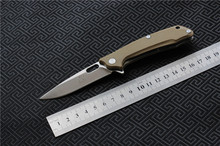 TIGEND Outdoor 1809 Ball Bearing Folding Knife 9cr14 Blade G10 Handle Camping Adventure Mountaineering Tactical EDC Tools(China)